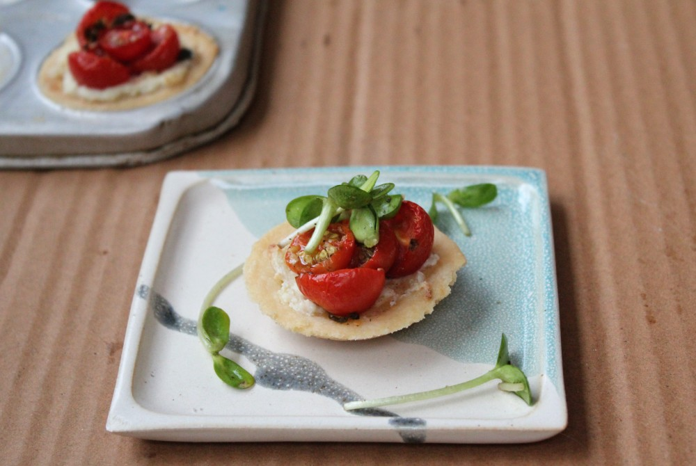 Tomato and Ricotta Tart (1)